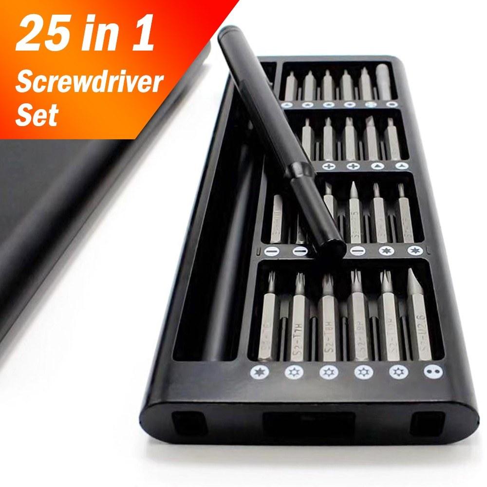 25 in 1 Precision Screwdriver Set Repair Tool Kit