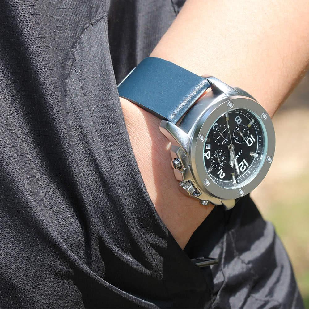 c5193c3cbff SINOBI Relógio de quartzo casual de moda 3ATM Relógios impermeáveis para homens  Relógio de pulso luminoso Calendário Masculino - Tomtop.com