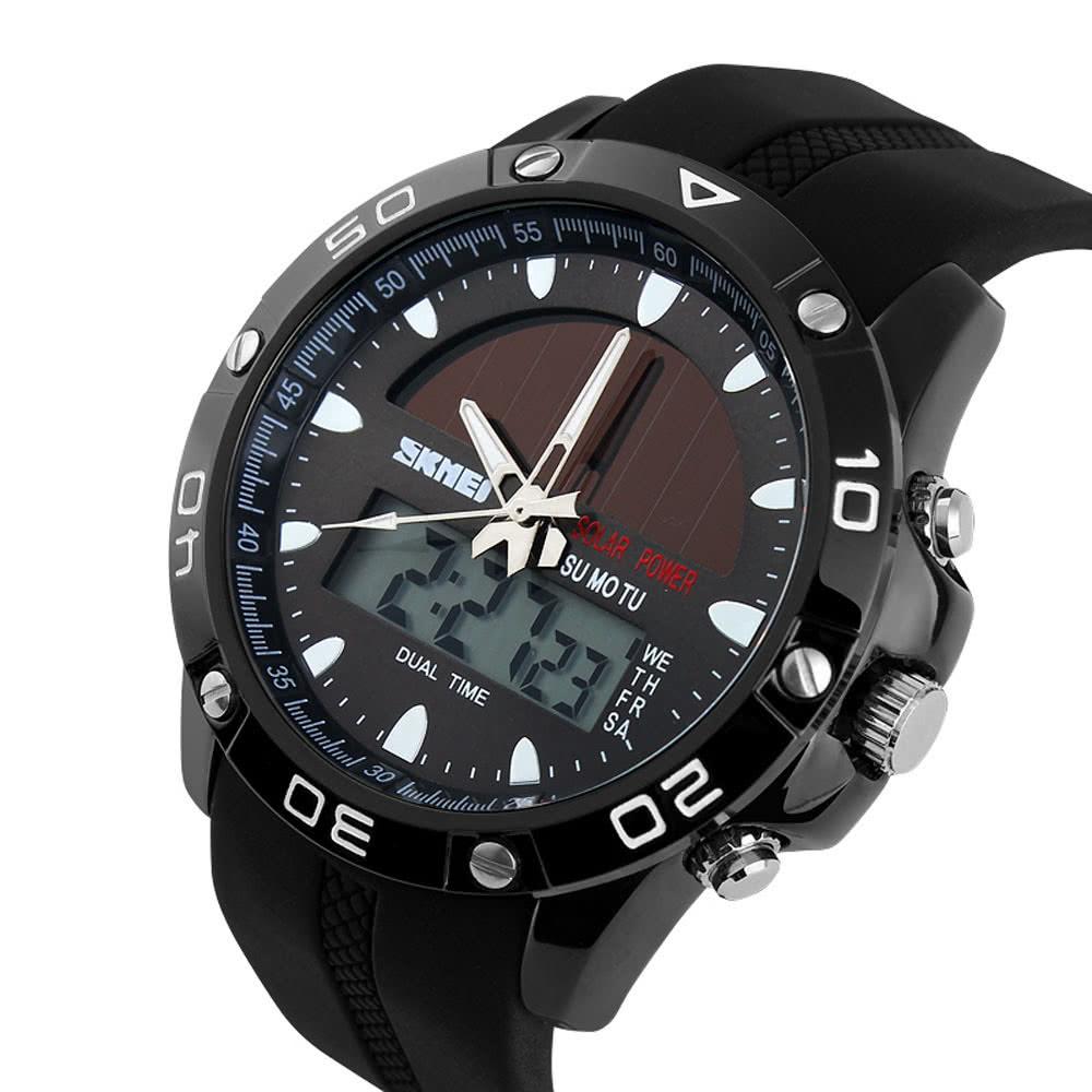 dc2f9a7498d4 Reloj deportivo para correr de la marca de fábrica de los hombres de SKMEI Reloj  digital de LED