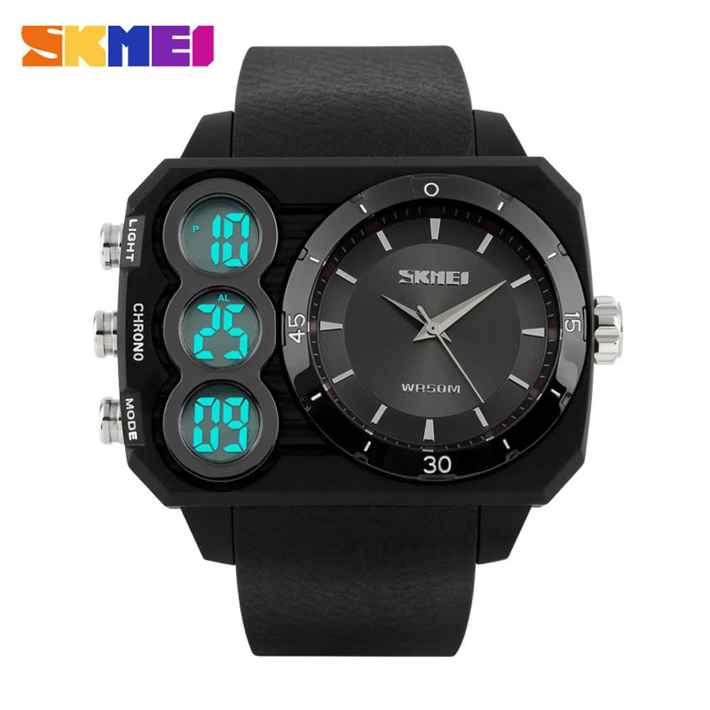 ad8b04664 Nejlepší SKMEI Módní pánské značky sportovní hodinky LED Prodej ...