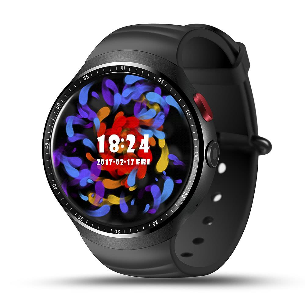 best lemfo les 1 3g smart watch black sale online shopping. Black Bedroom Furniture Sets. Home Design Ideas