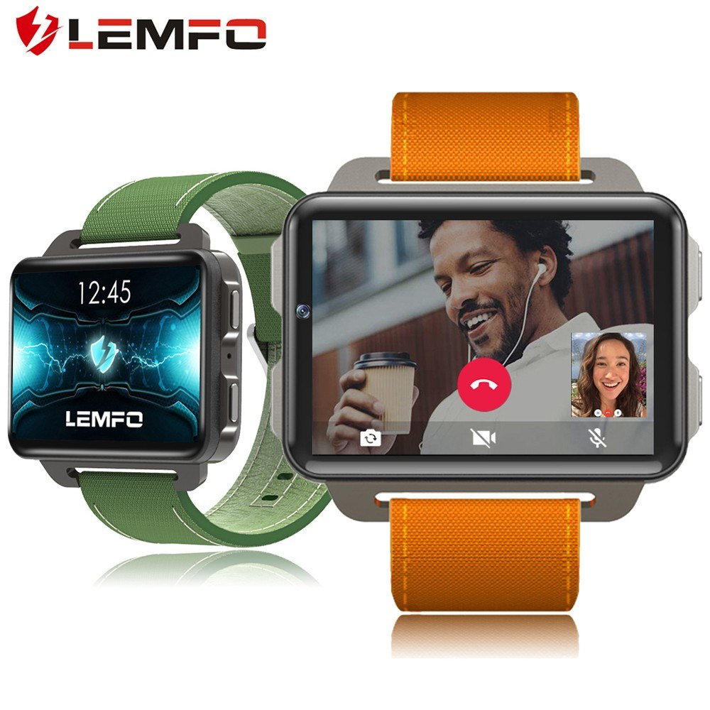 Get LEMFO LEM4 Pro 3G Smart Watch Phone Android 5.1 OS 1.3GHz Quad Core CPU RAM 1G + ROM 16G Nano SIM Card 2G GSM & 3G WCDMA BT 4.0 WiFi 2.2 Inch IPS Screen Pedometer Heart Rate Smartwatch for Android 5.0/IOS 8.0 for $99.99,flash sale,free shipping,500 pc