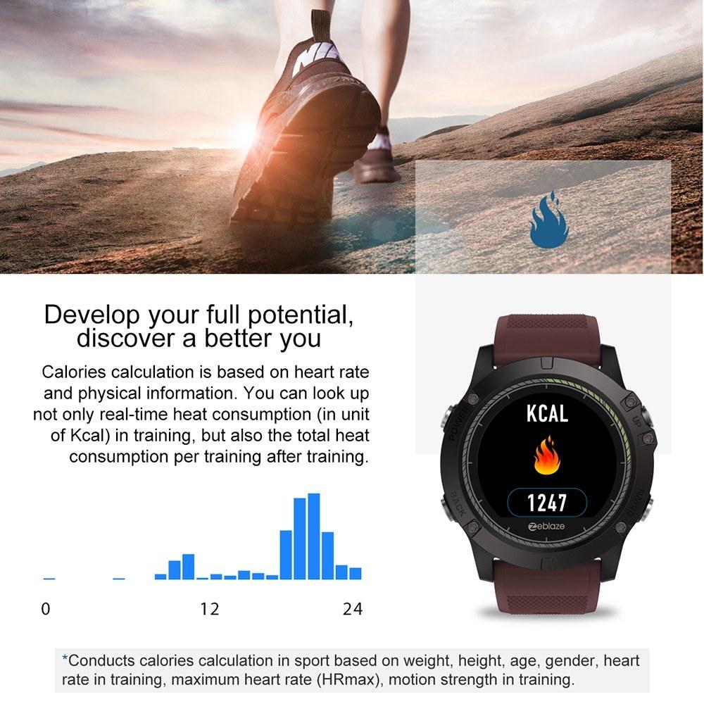 Best Zeblaze Vibe 3 Hr Smartwatch Ip67 Waterproof Smart Black Sale