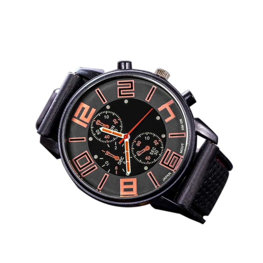 Fashion Men Luxury Stainless Steel Quartz Sport Watch