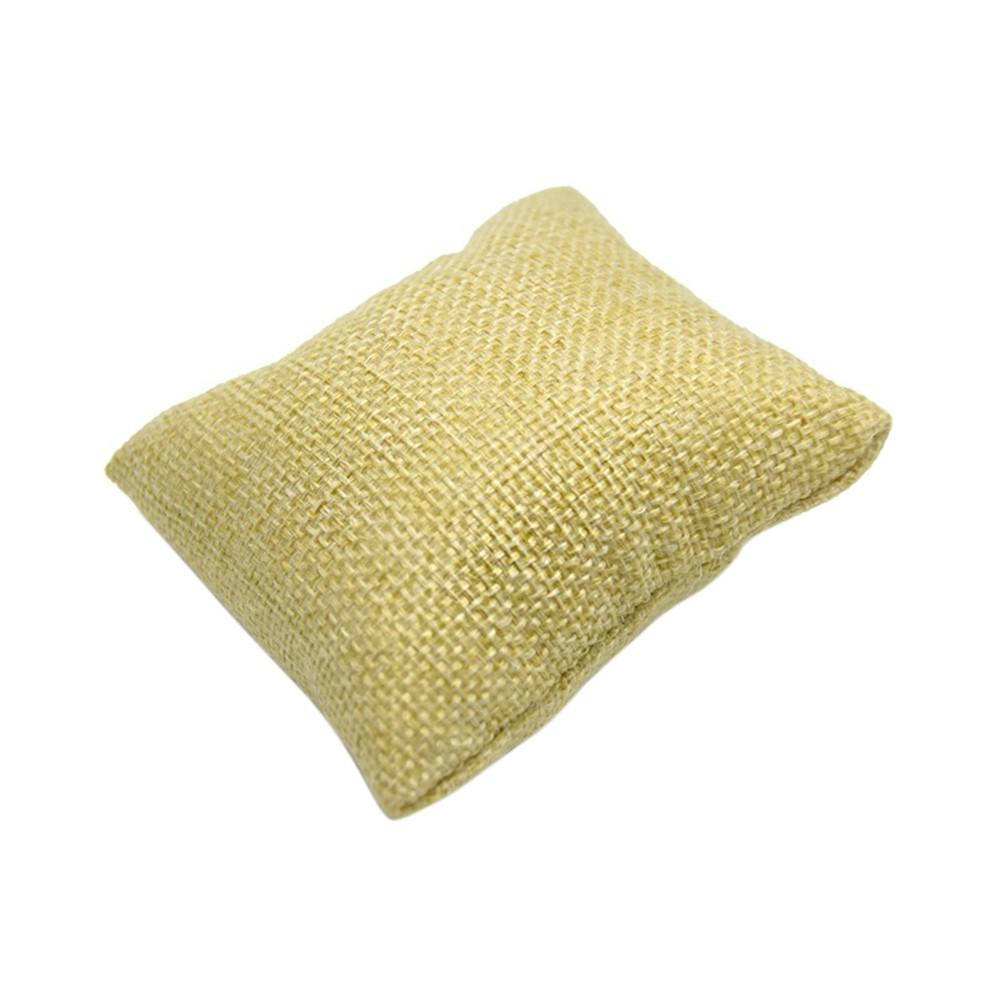 kleine kissen uhrenboxen armband display st nder schmuck halter schaufenster display beige. Black Bedroom Furniture Sets. Home Design Ideas