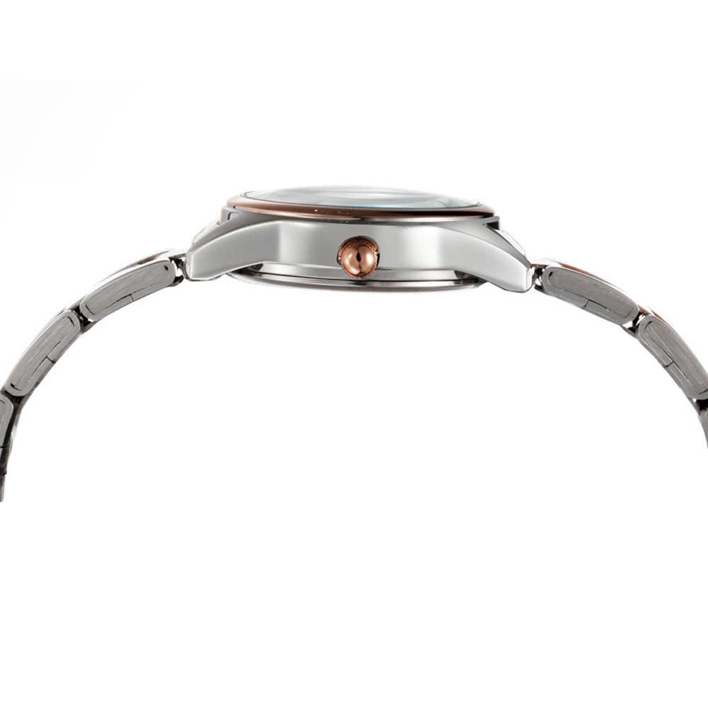 27df4b64abf SKONE bonito coração forma flor Dial liga Watchband Rhinestone incorporado  impermeável delicado relógio de pulso para mulheres - Tomtop.com