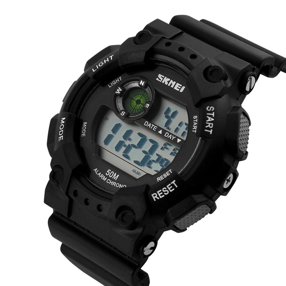 Часы SYNOKE WR50M S-Sport S-Shock Skmei полный обзор