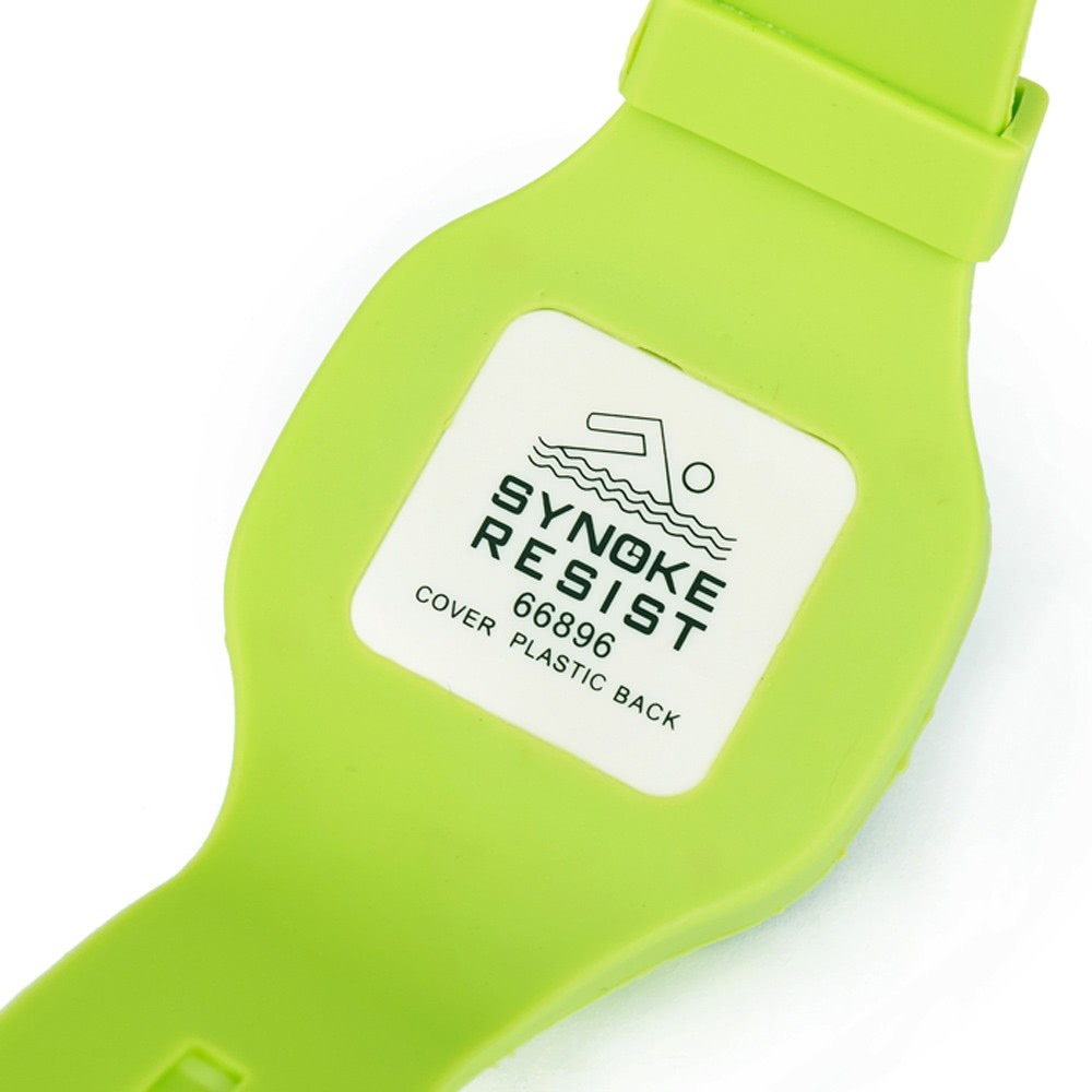 SYNOKE Fashion Cool Water-resistant Jelly Student Watch Ultra Soft Silicone Watch Band Women Men Sports Wristwatch Online Shopping | Tomtop