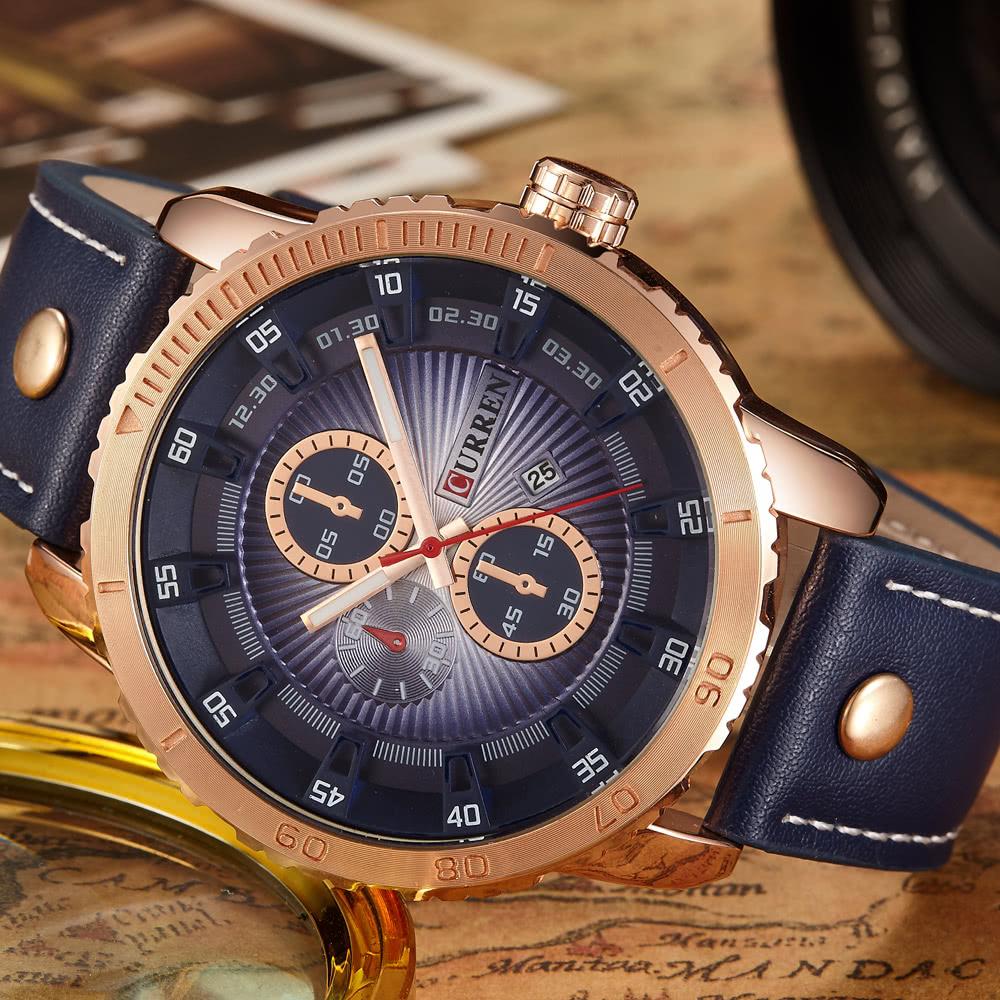 2017 curren мужские часы