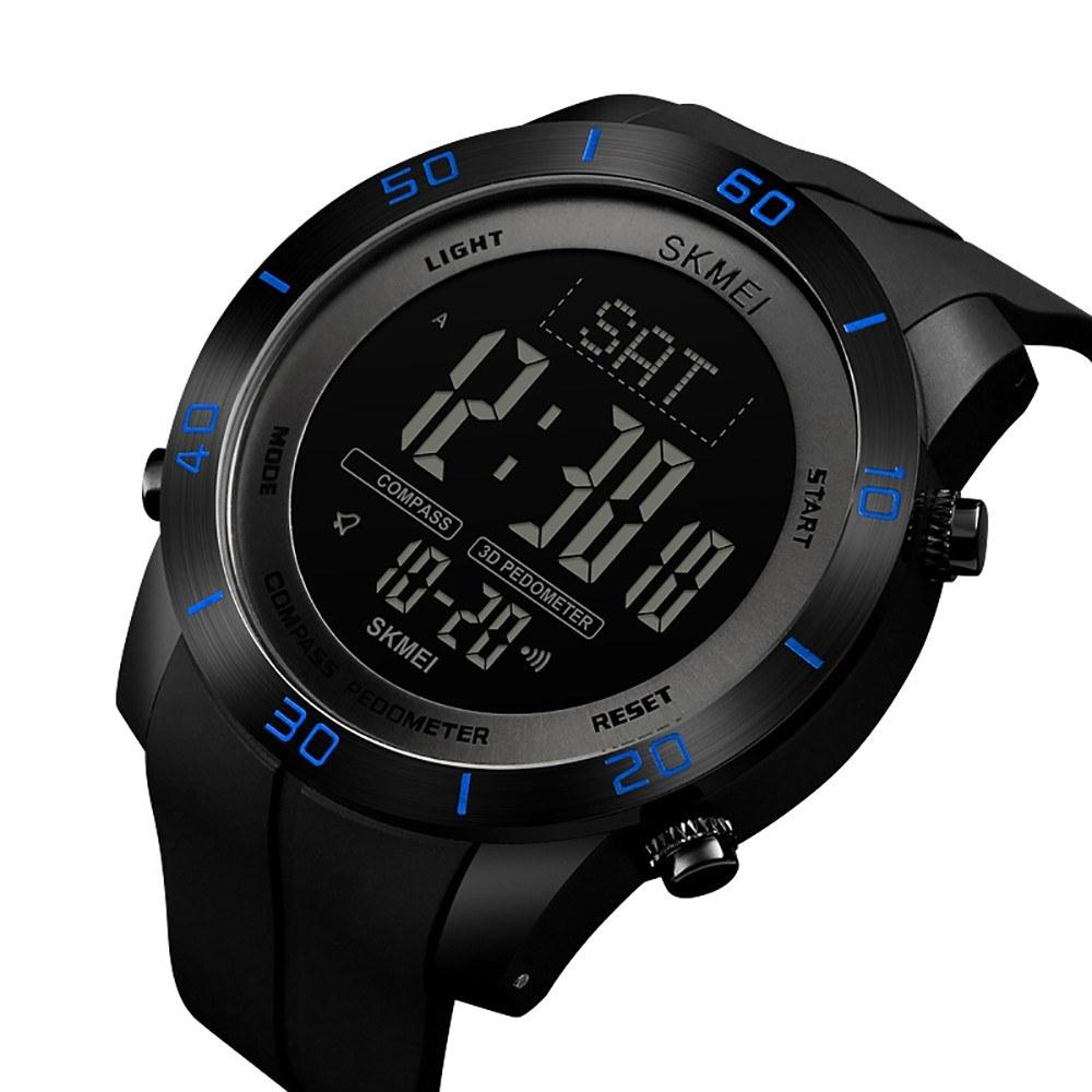 f9abf2c0b SKMEI 1354 Analog Digitální hodinky hodinky Módní Casual Pedometer  Sportovní náramkové hodinky