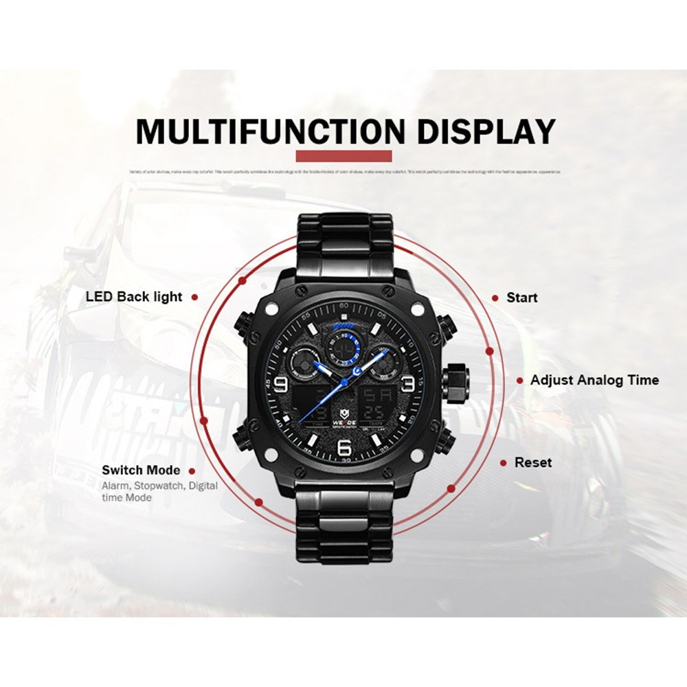 WEIDE WH7303 Quartz Digital Electronic Watch