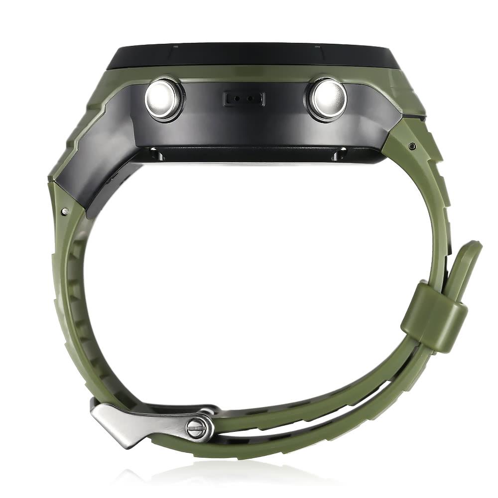 187e555d17a0 ... cardíaco podómetro BT 4.0 inteligentes reloj deportivo Running  Senderismo recargable aptitud del reloj para hombre Calorías 50M Altitud de  agua a prueba ...