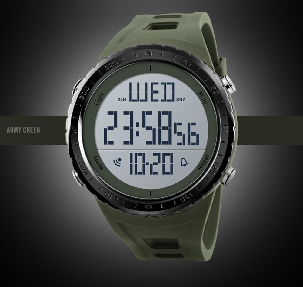 67c5b9b8833 SKMEI Sport Digital Watch 5ATM Relógios unisex resistentes à água  Retroiluminação Relógio de pulso Tempo   Semana   Alarme   Data   Cronômetro  para crianças