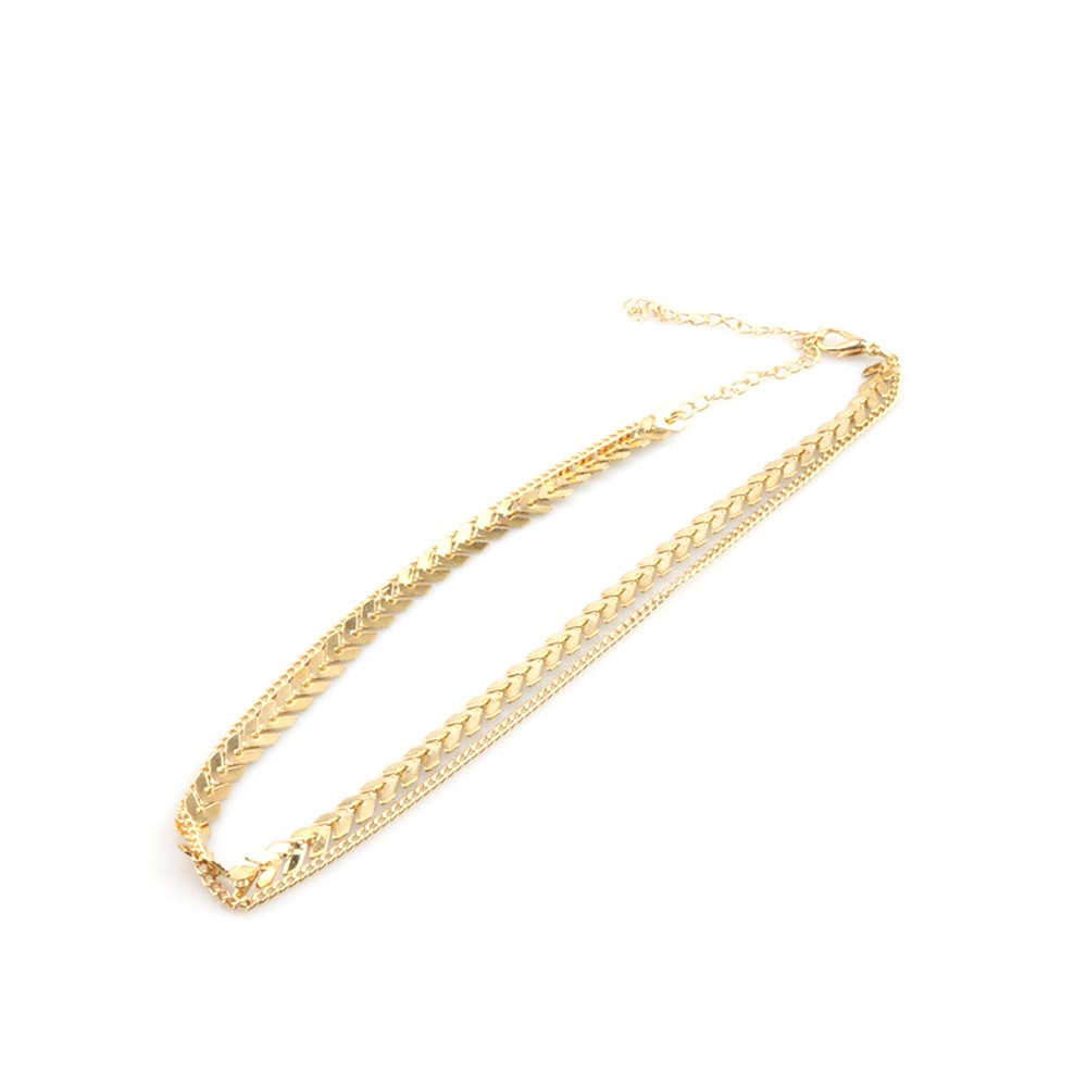 imitation male product fashion chains gold simple europe feijarot store long jewelry figaro chain cindiry necklace tight necklaces