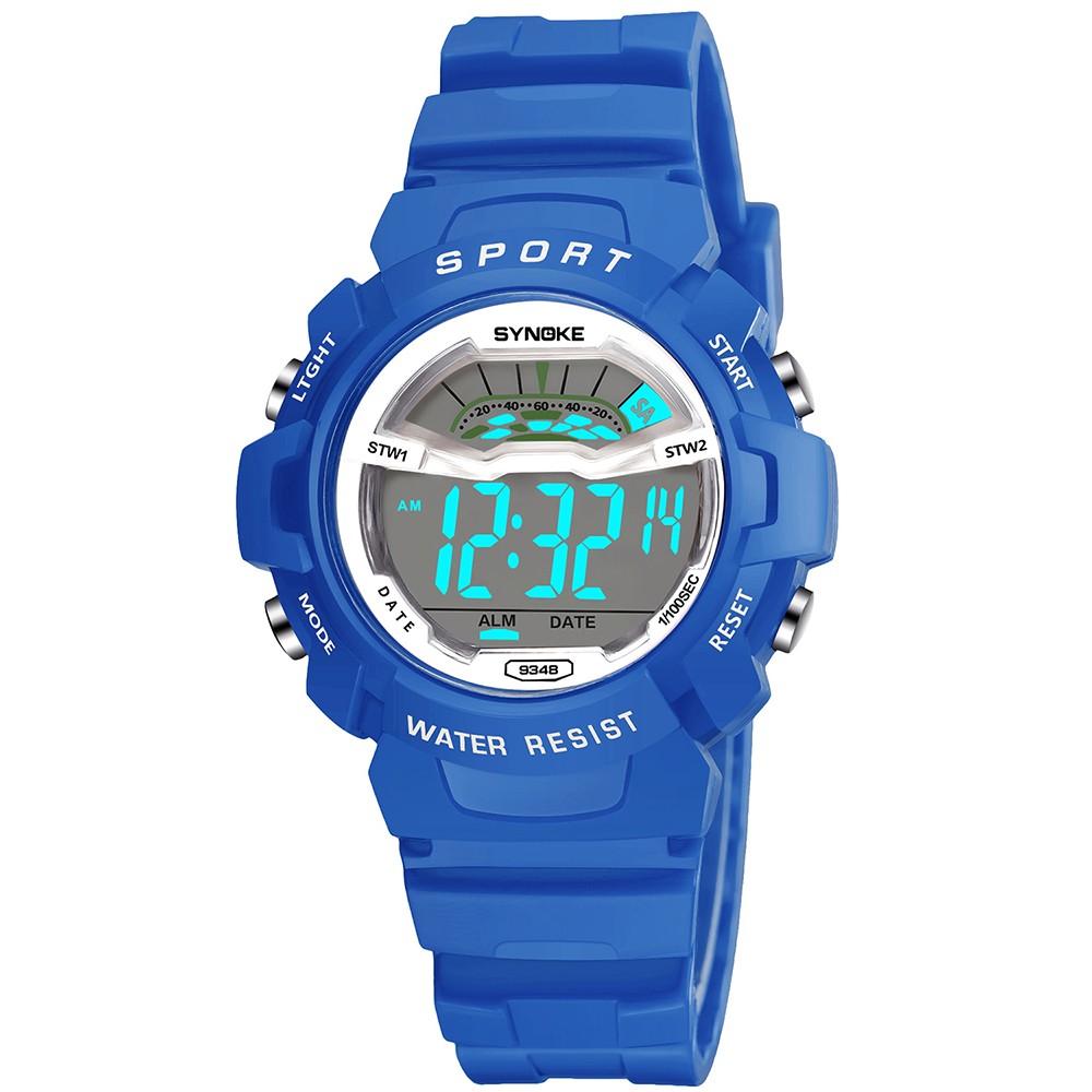 641551773eb SYNOKE Estudantes Relógios desportivos para crianças 3ATM Vida Resistente à  água Digital Backlight Criança Menino Garotas Meninas Relógio de pulso ...