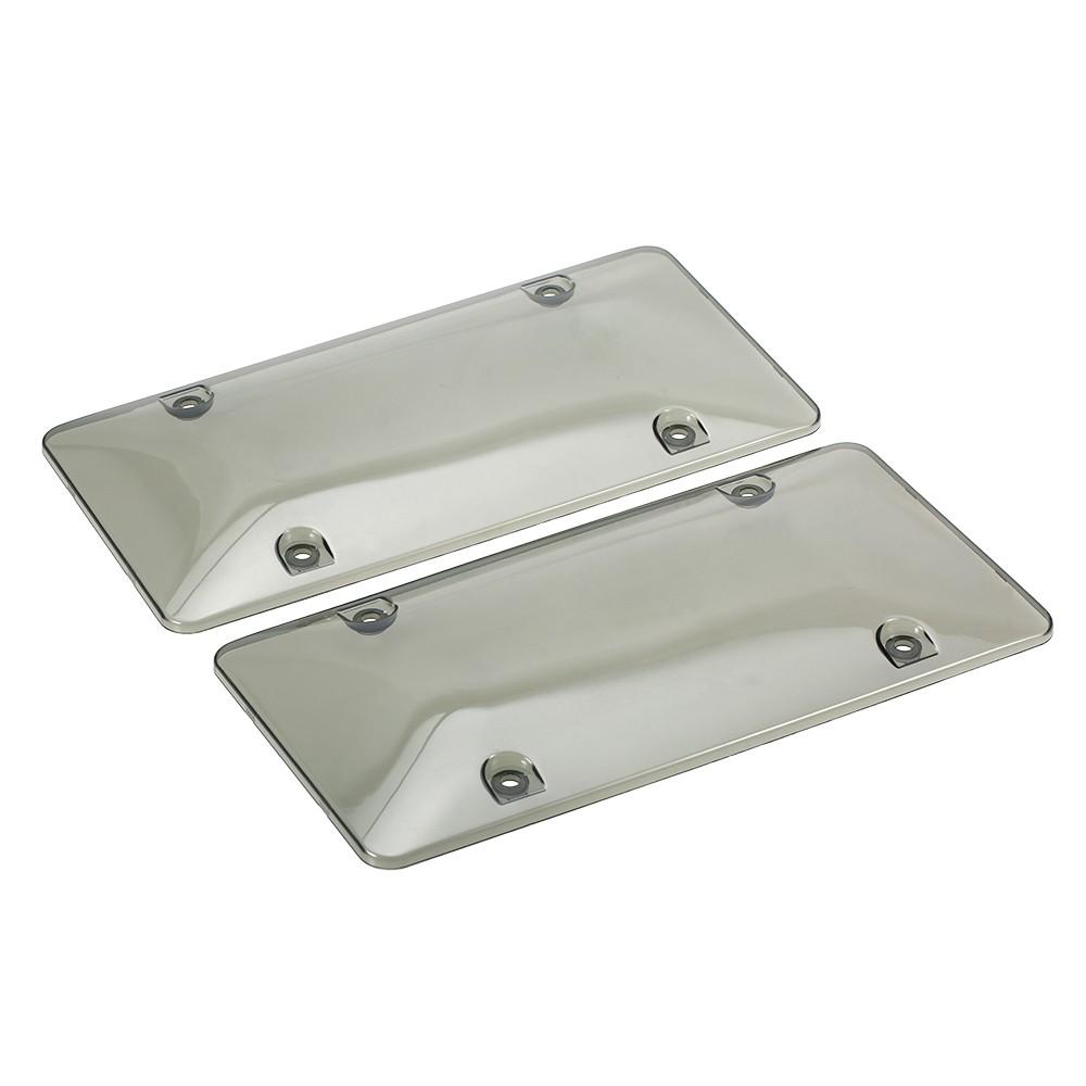 Mejor 2x marcos de placa de matrícula Escudo de cubierta de Venta ...