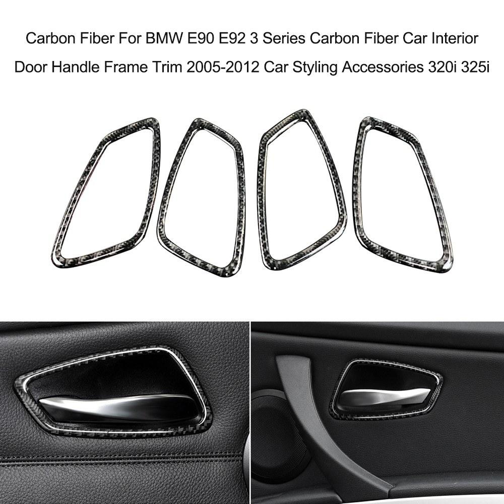 Carbon Fiber For Bmw E90 E92 3 Series Carbon Fiber Car Interior Door