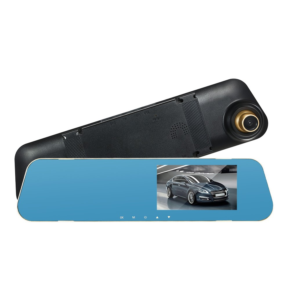 Best 4 3'' HD Rearview Mirror Car DVR Dash Cam Video Camera(Without #2 Sale  Online Shopping | Cafago com