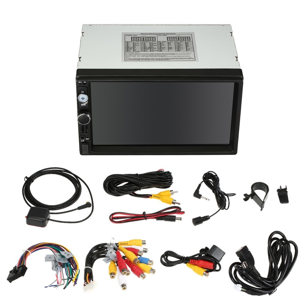 Universal 7 Smart Car Stereo Radio Player Gps Navigation Android Bt Tv Box Wiring 71 2 Din Sales Online America Tomtop