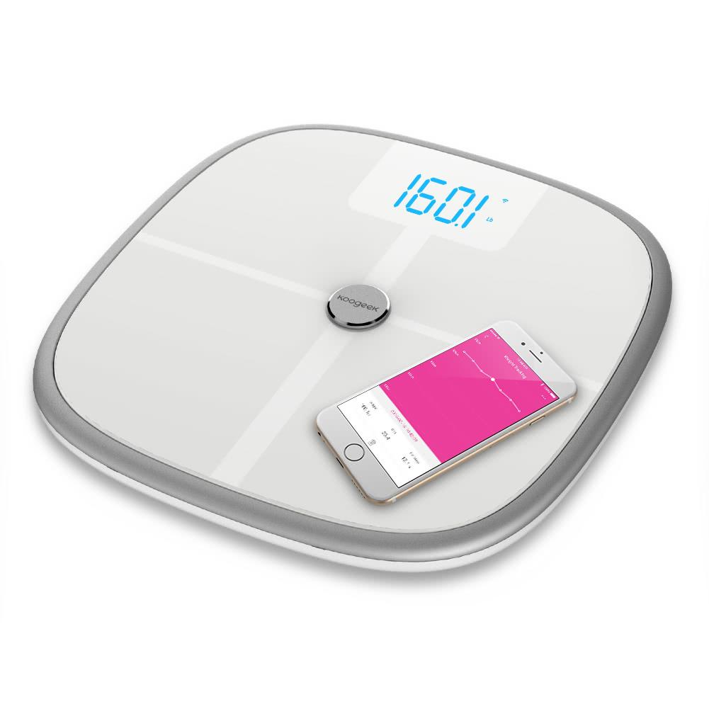 Smart Health Scale Bluetooth WiFi Sync - Koogeek com