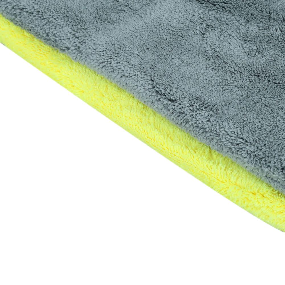 bicolore en microfibre coral fleece voiture nettoyage. Black Bedroom Furniture Sets. Home Design Ideas