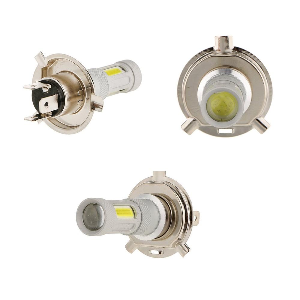 2 Pcs High Power COB LED Fog Light H4 Car Driving Lamp 80W