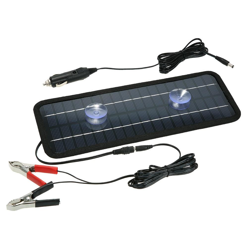 chargeur solaire portatif de chargeur de batterie de bateau de voiture de puissance de panneau. Black Bedroom Furniture Sets. Home Design Ideas