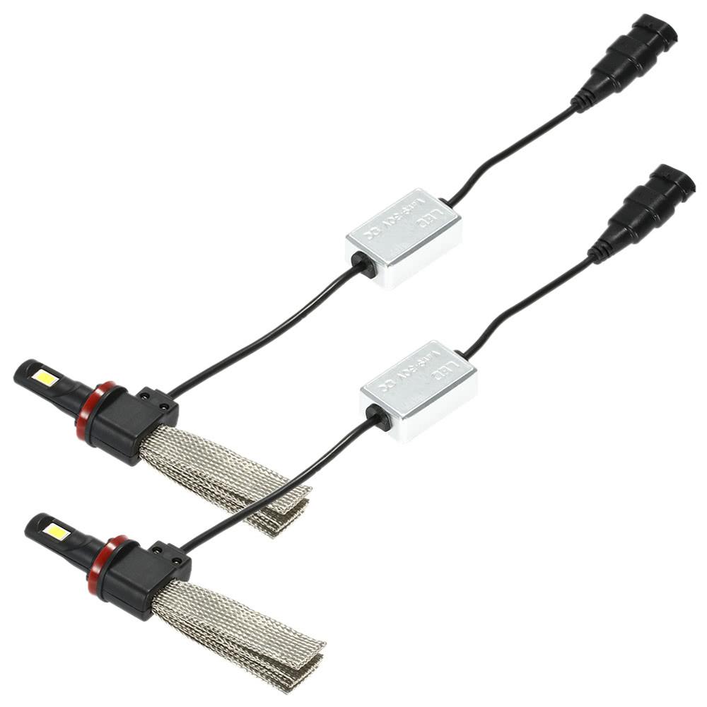 KKmoon H7 500W LED COB Faros Luces Delanteras del Coche Kit 80000LM 6000K L/ámparas de Luz Blanca Bombillas