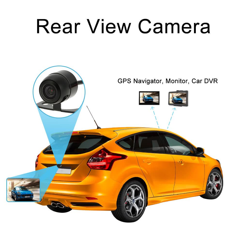hd mini car rear view camera sales online black tomtop. Black Bedroom Furniture Sets. Home Design Ideas