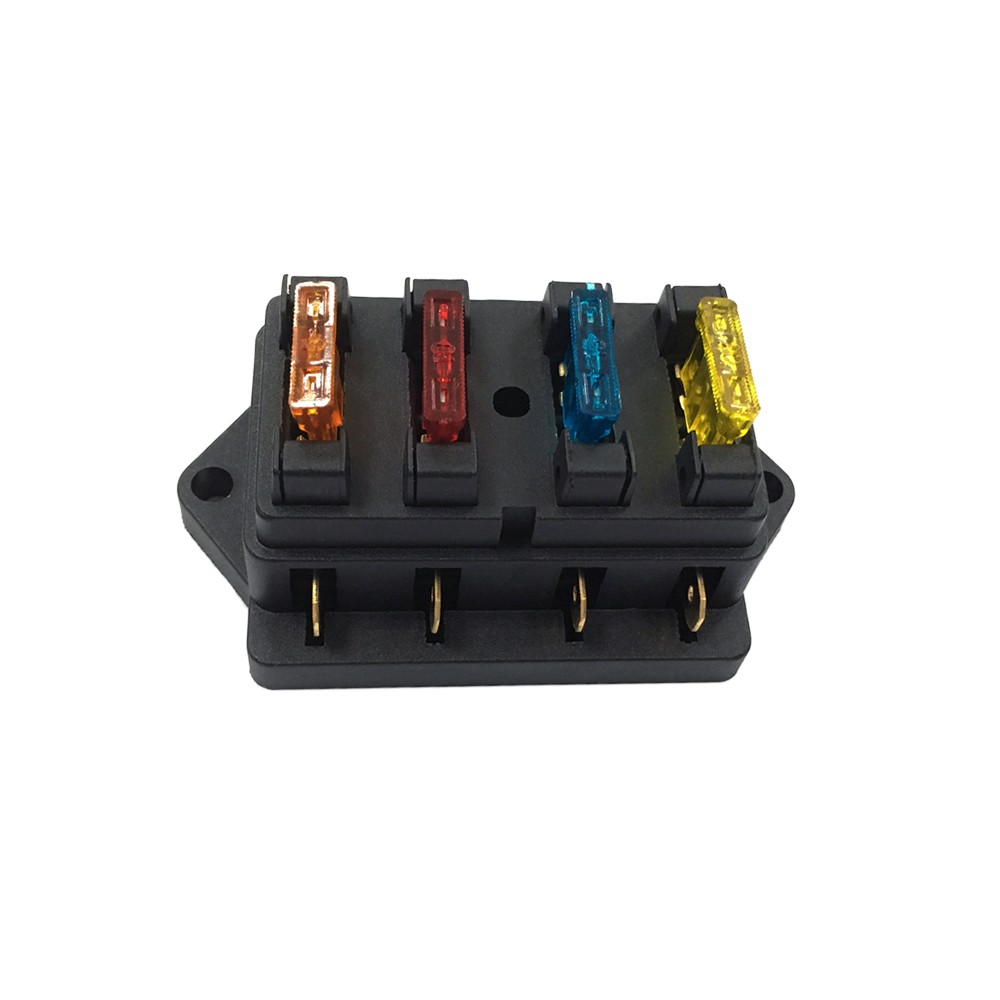Way Fuse Holder Box Car Vehicle Automotive Circuit Blade Block Circuits With Standard Fuses Sales Online 4 Tomtop