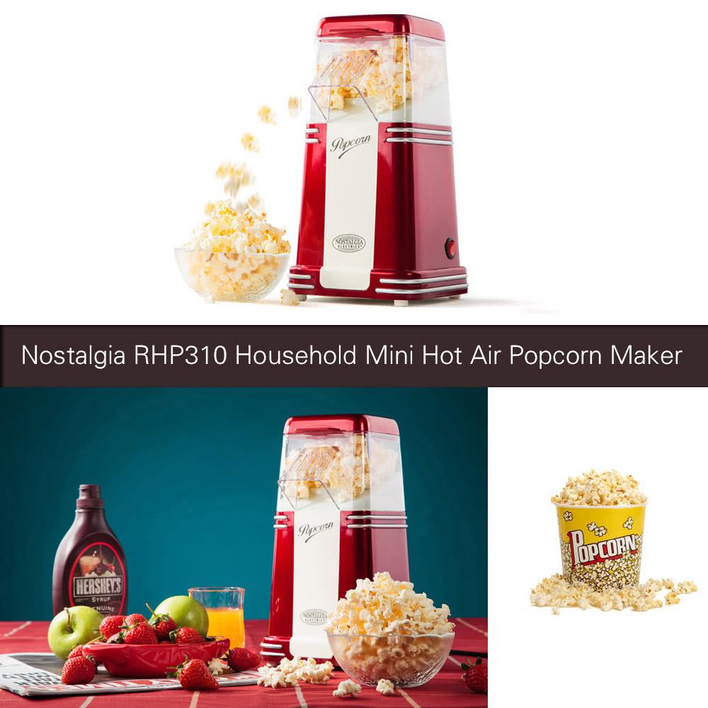 nostalgia hot air popcorn maker instructions