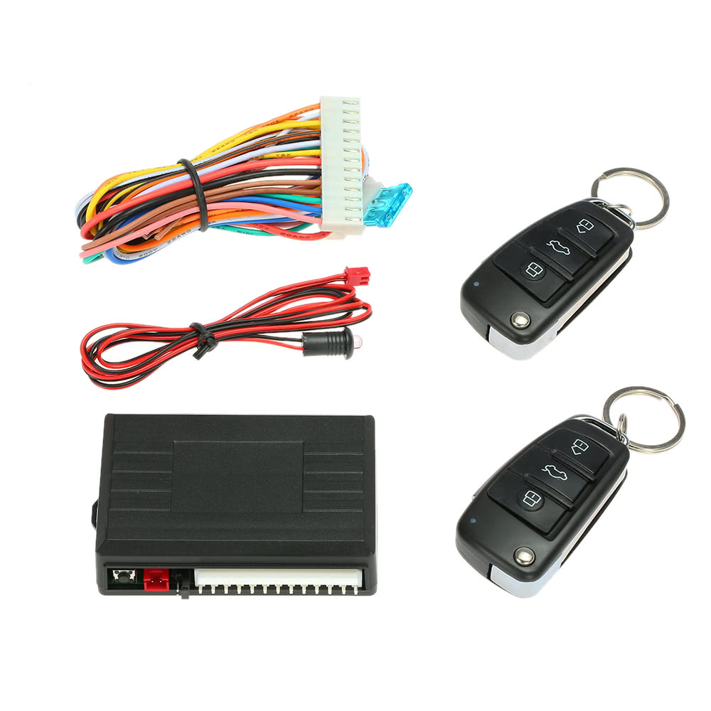 Universal Car Door Lock Keyless Entry System With Trunk Release