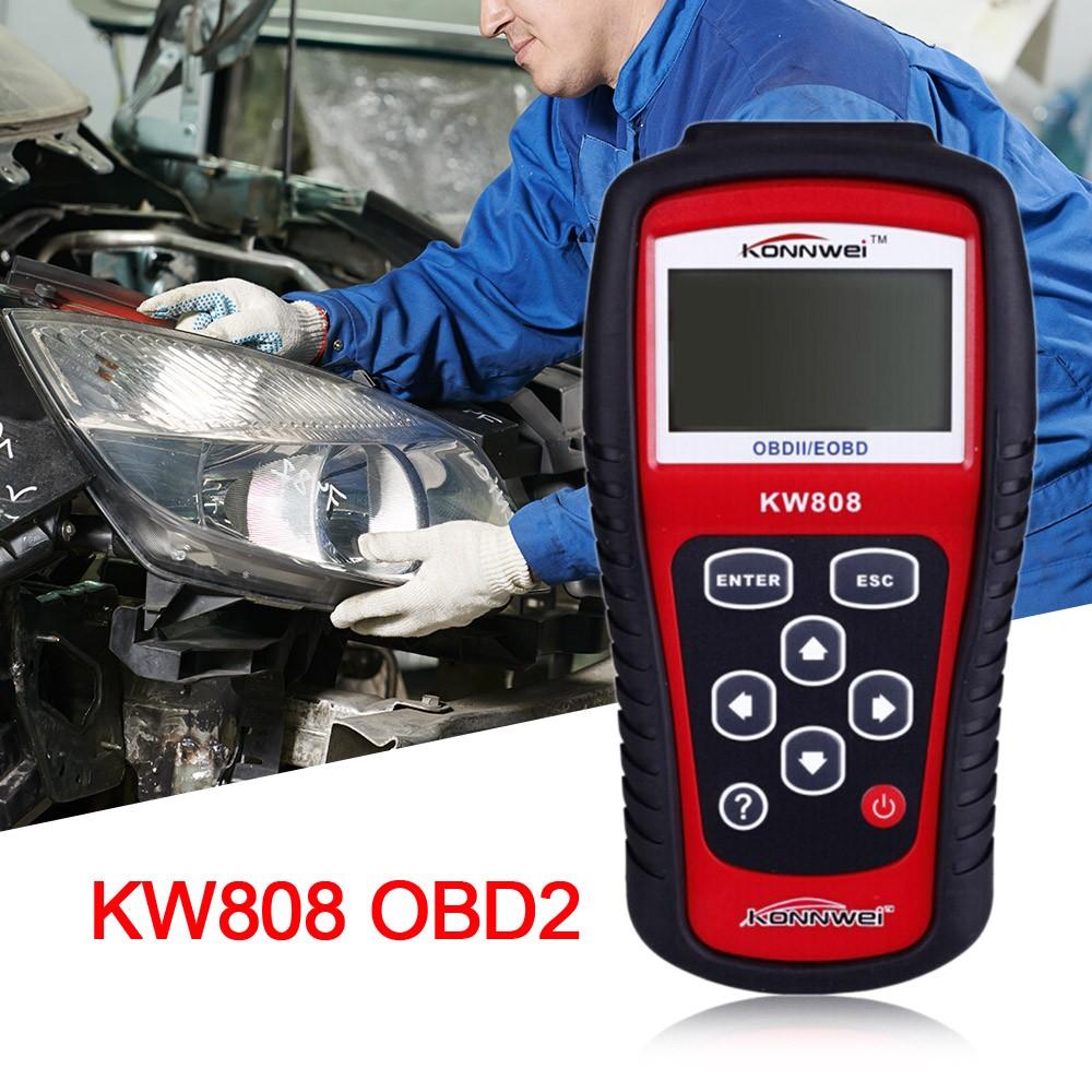 Vehicle Code Reader >> Maxiscan Kw808 Obdii Eobd Scanner Car Code Reader Tester Diagnostic