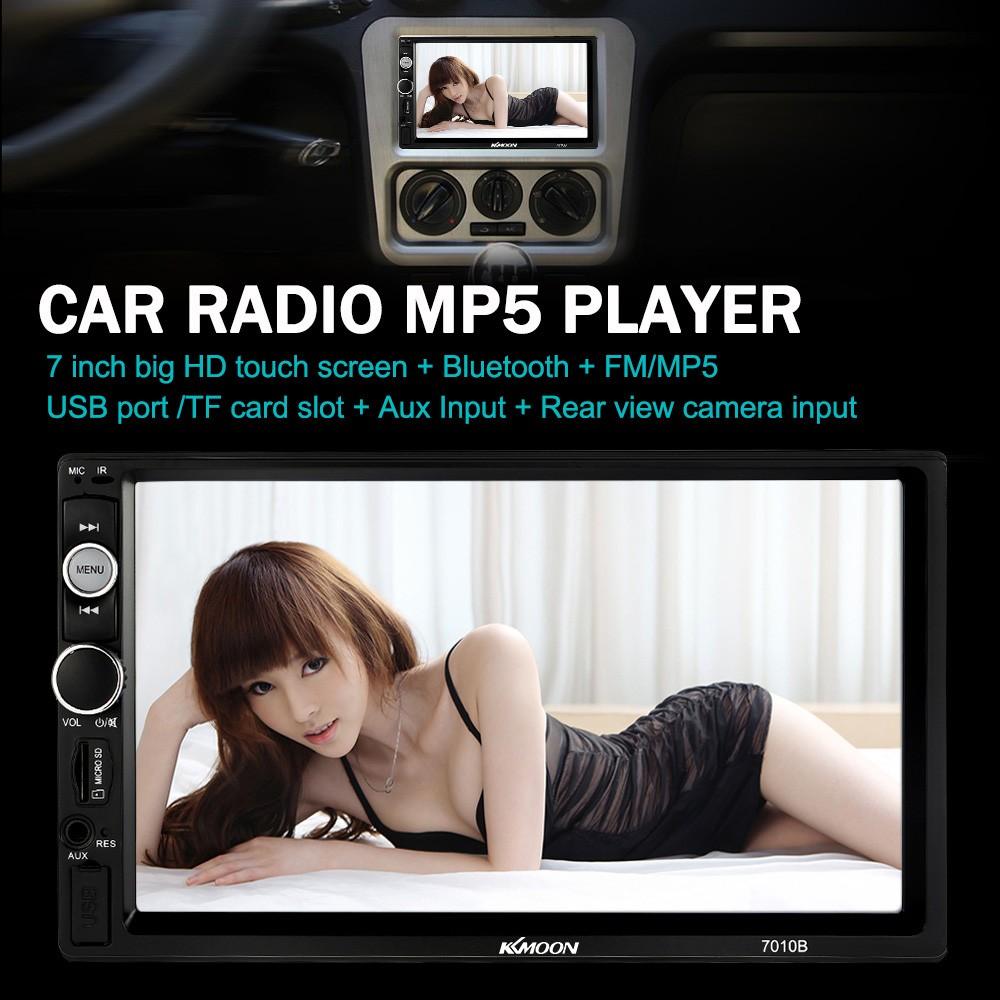 KKmoon 7010B 7 inch Universal 2 Din HD BT Car Radio MP5 Player