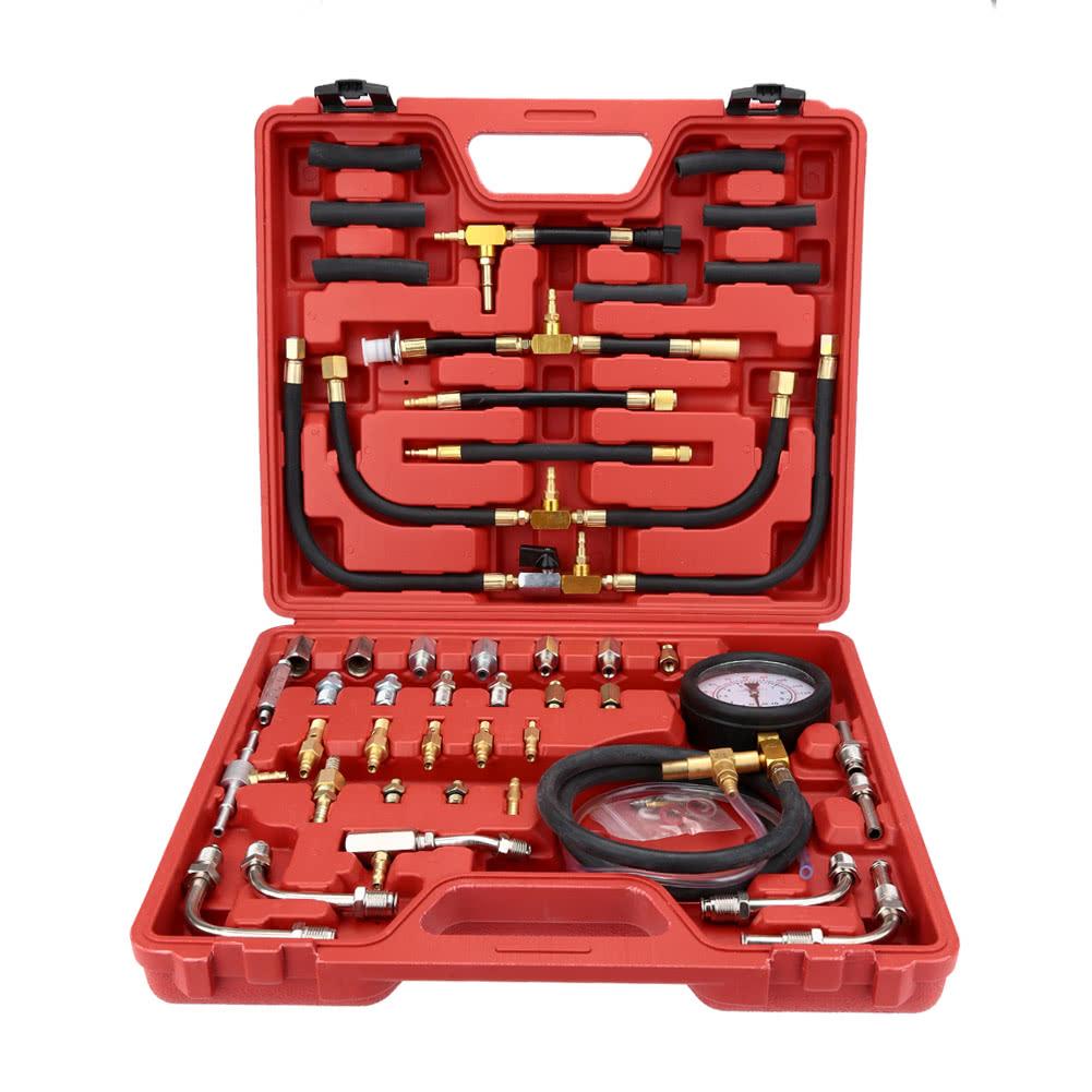 syst me d 39 injection pression testeur injecteur pompe manom tre essence test set 0 140 lb po2. Black Bedroom Furniture Sets. Home Design Ideas