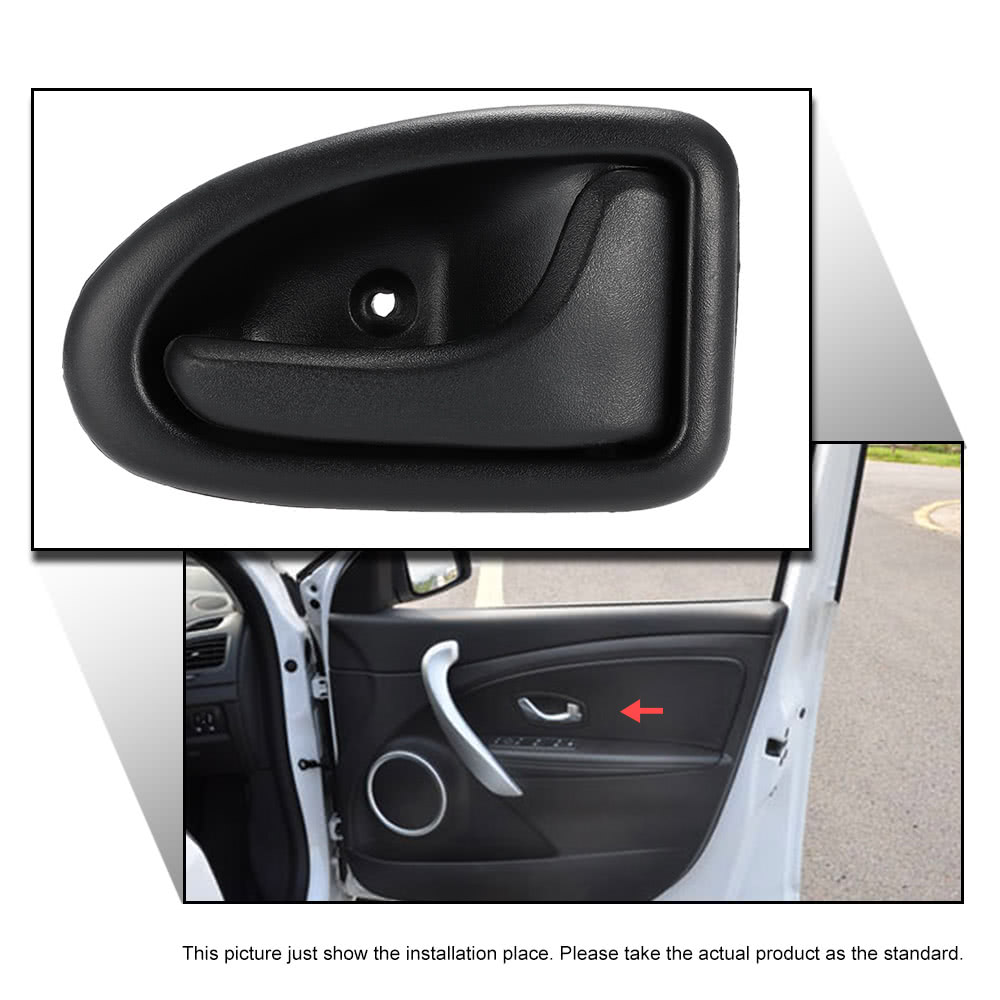 car interior right door handle internal pull grab handle for renault clio megane sales online. Black Bedroom Furniture Sets. Home Design Ideas