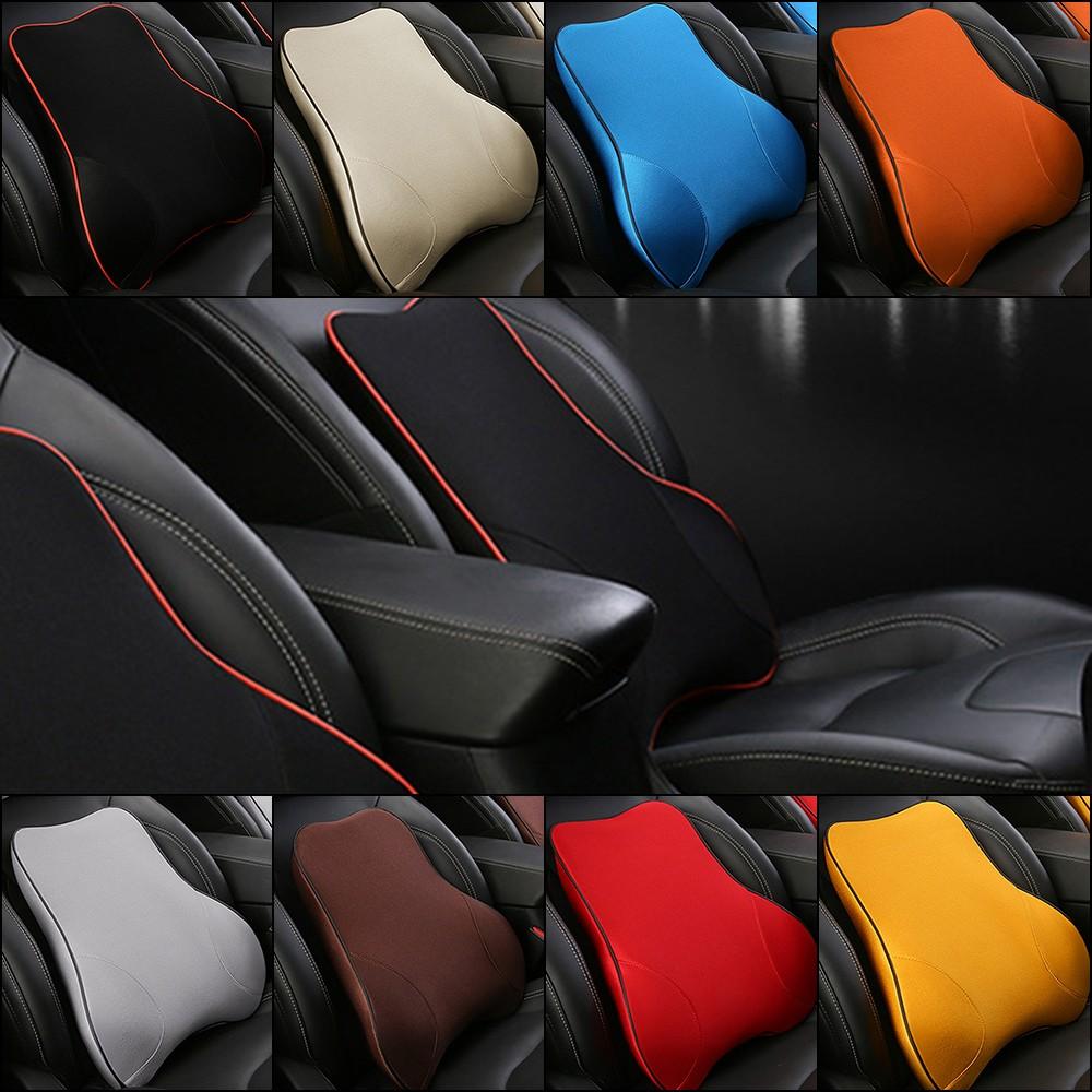 coussin lombaire de mousse de m moire de mousse de coussin de soutien de voiture de soutien d. Black Bedroom Furniture Sets. Home Design Ideas