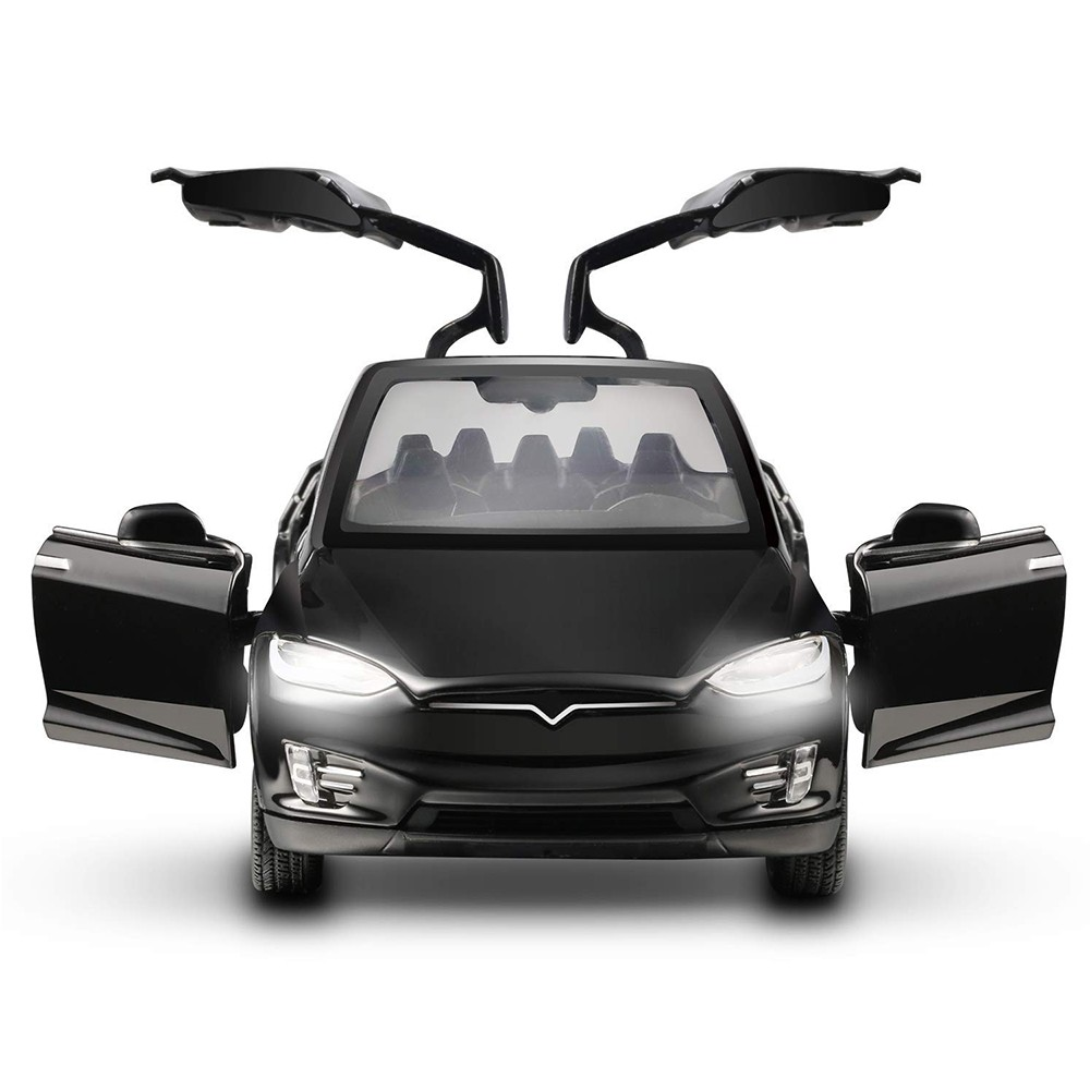Diecast Toy 1:32 Scale Alloy Cars for Tesla Toy Model