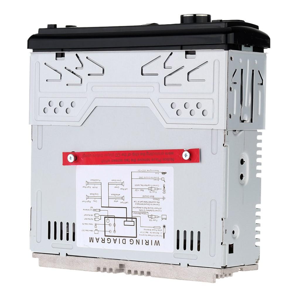 Car Stereo Radio Audio Player Receiver Fm Aux Cd Dvd Wma Mp3 Usb Connection Diagram Sd Slot Detachable Panel Sales Online Tomtop