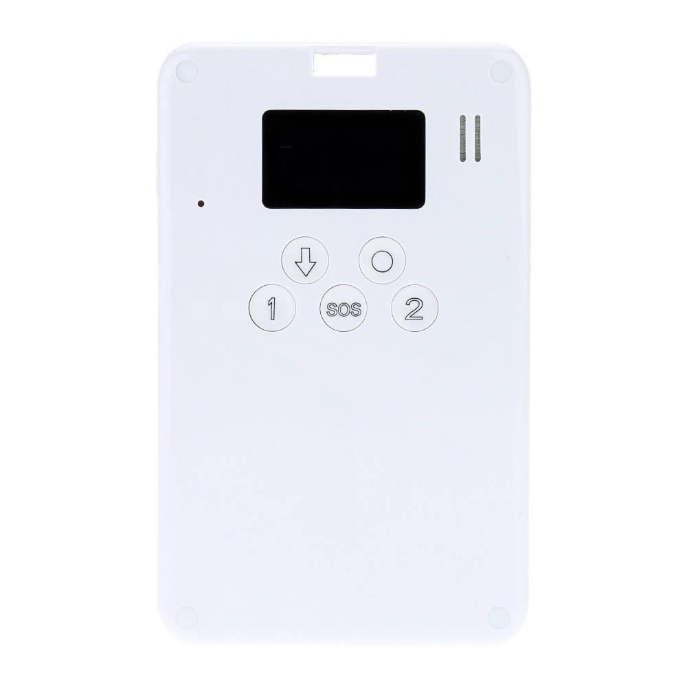 Various Function GSM GPS Car Vehicle Tracker Personal SMS SOS Communicating  iOS/Andriod App Positioning Alert System with ID Card Holder and Neck