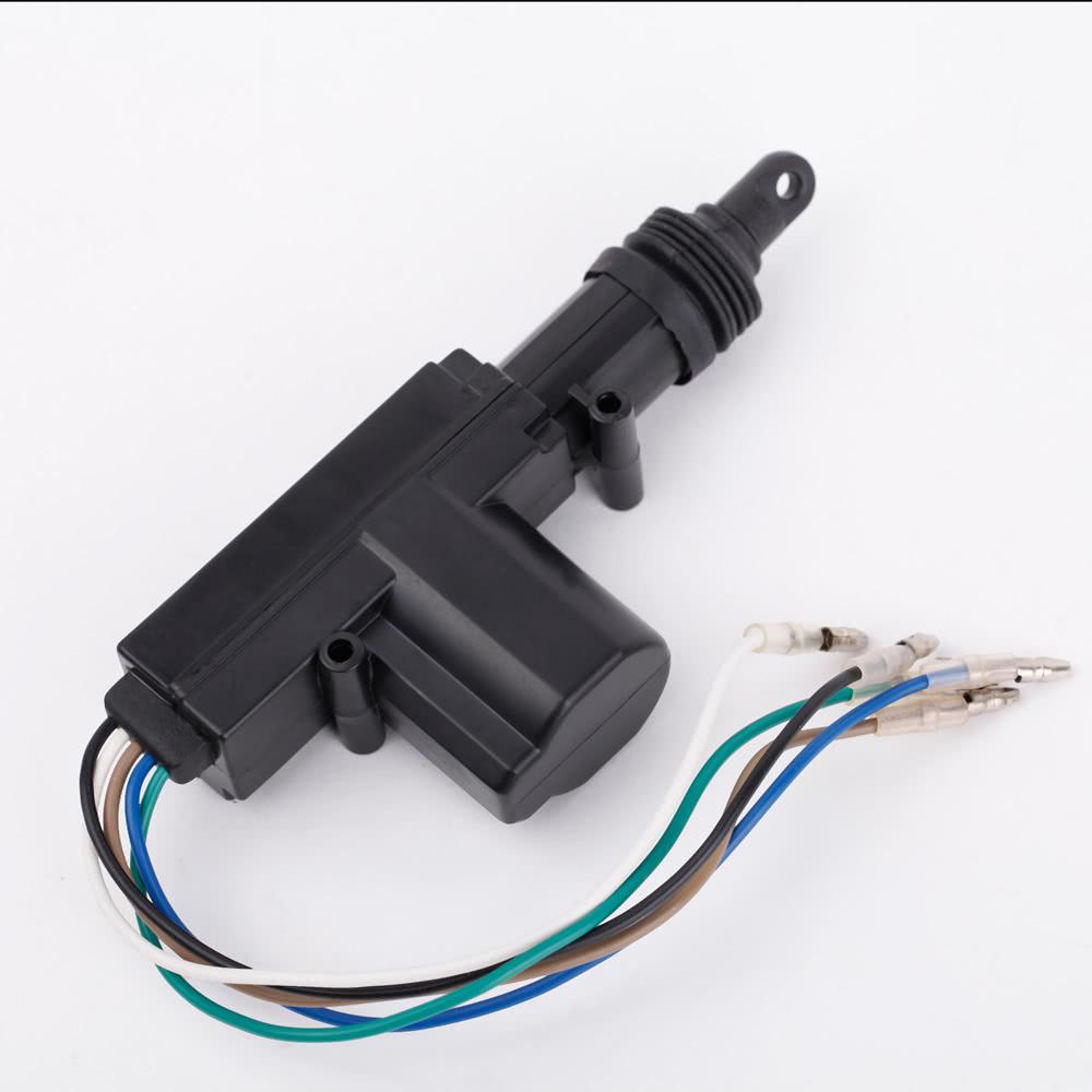 Alimentation pour actionneur de verrouillage de porte voiture moteur 5 fils 12v - Moteur de verrouillage de porte de voiture ...