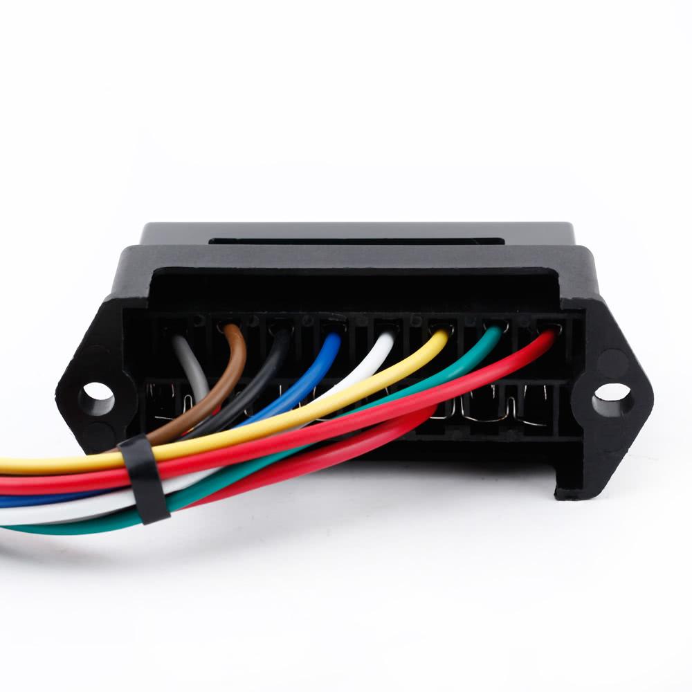 8 Way Dc32v Circuit Car Trailer Auto Blade Fuse Box Block Holder Atc