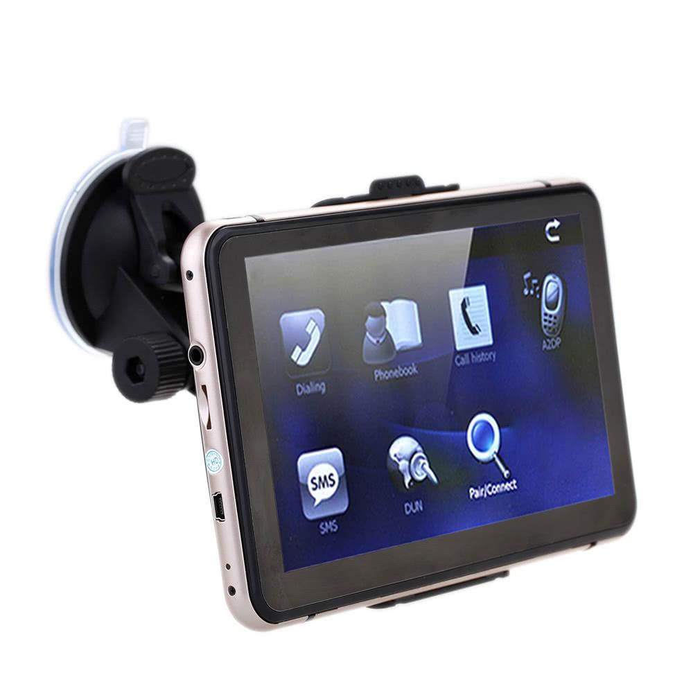 7 hd cran tactile voiture portable gps navigation 128 mo de ram 4 go europe. Black Bedroom Furniture Sets. Home Design Ideas