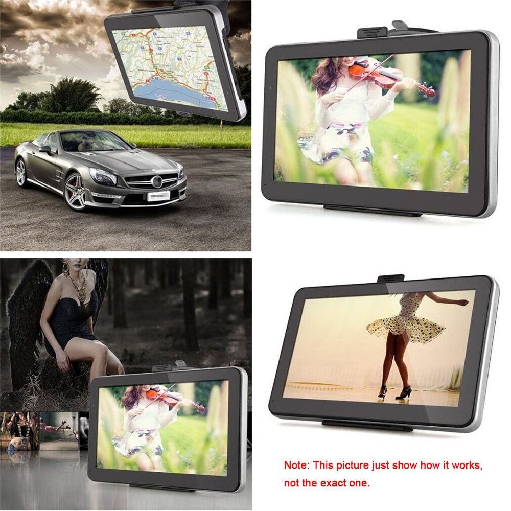 KKmoon Portable HD Screen GPS Navigator MB RAM GB ROM Sales - Gps with europe and us maps