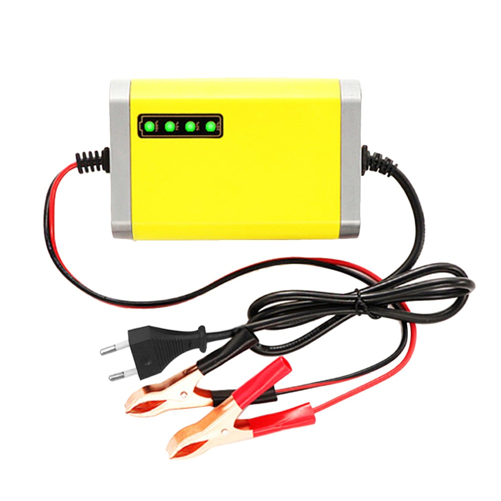 Best Car Motorcycle Battery Charger 12v 2a Full Eu Plug Sale Online