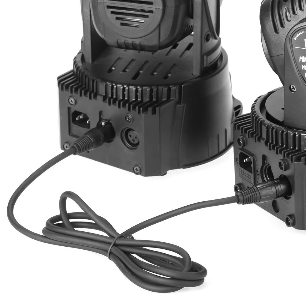 Lixada 1m Stage Lighting Dj Cable Din 3 Pin Signal
