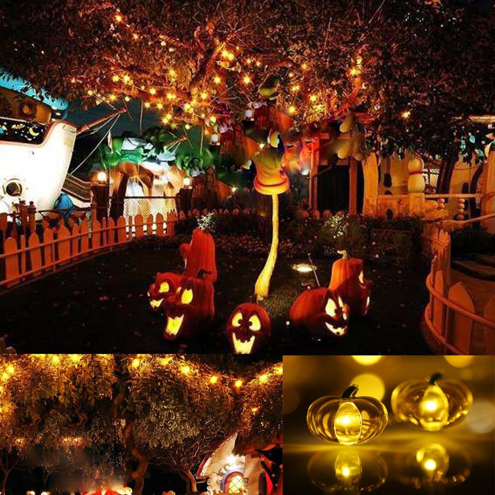 Zucca Di Halloween Della Luce Della Stringa 40 Led 3m