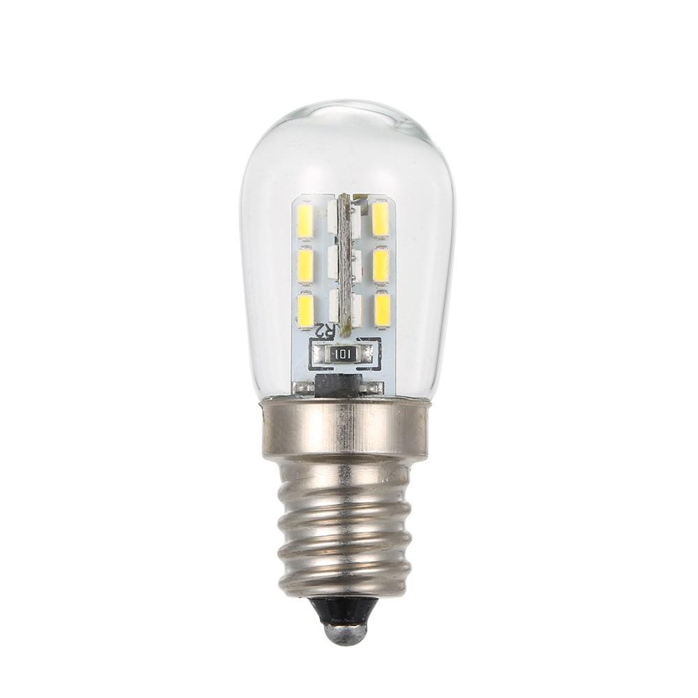 e12 led mini r frig rateur r frig rateur lampe ampoule 110v ac blanc. Black Bedroom Furniture Sets. Home Design Ideas
