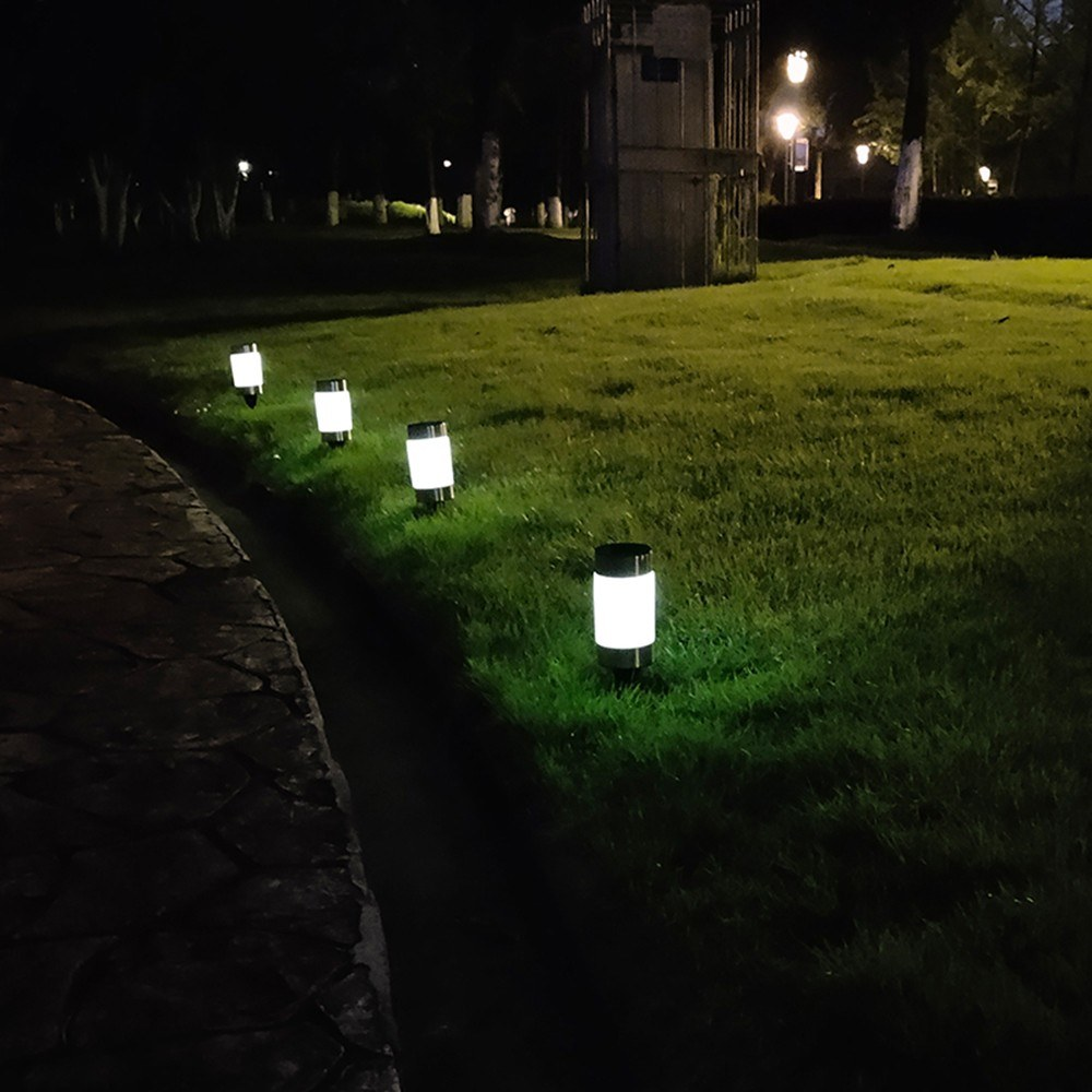 2PCS Lawn Lamp Solar Garden Pathway Lights