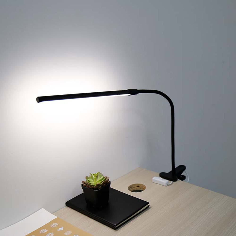 6w 30 Leds Eye Protection Clamp Clip Light Table Lamp S Black Tomtop